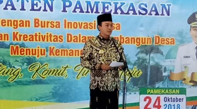 Bursa Inovasi Desa Dorong Pertumbuhan Ekonomi di Pamekasan