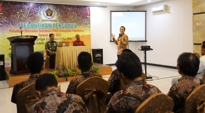 Bupati Baddrut Tamam Cegah Korupsi di Pamekasan Bersama KPK