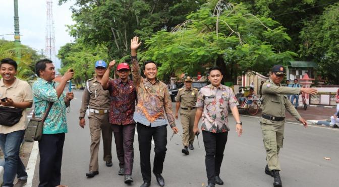Baddrut Tamam Jelaskan Penertiban PKL di Arek Lancor