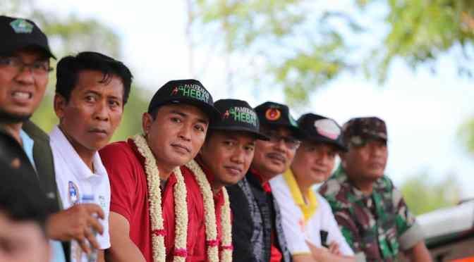 Bupati Pamekasan Buka Turnamen Batumarmar United 2019