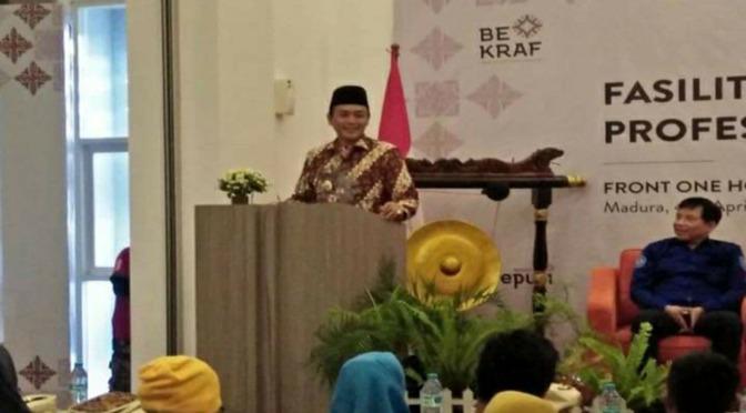 Pemkab Pamekasan Fasilitasi Setifikasi Profesi Batik bersama Bekraf-RI