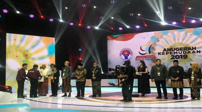 Pamekasan Raih Penghargaan Kabupaten Layak Pemuda Kategori Utama