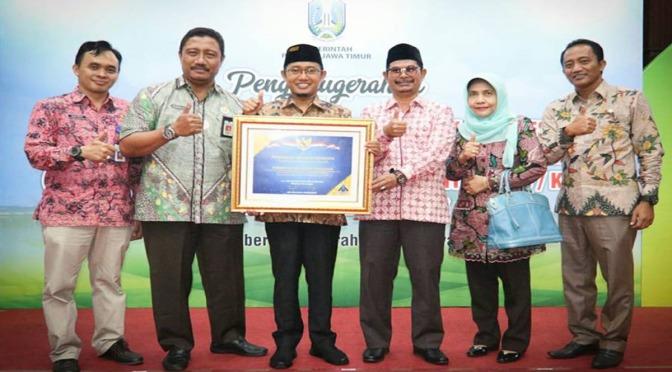 Pemkab Pamekasan Kembali Menerima Penghargaan dari Pemerintah Pusat