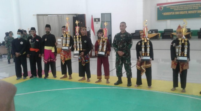 PPS Jokotole Pamekasan Raih Juara 2 Festival Pencak Silat Korem Bhaskara Jaya